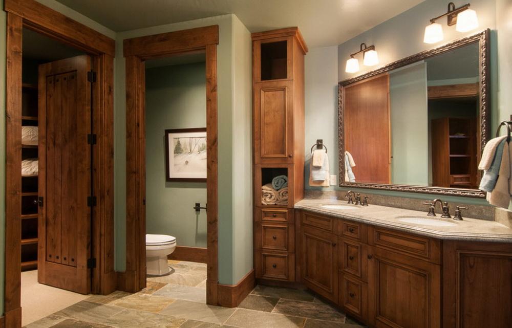 деревянный плинтус для ванной