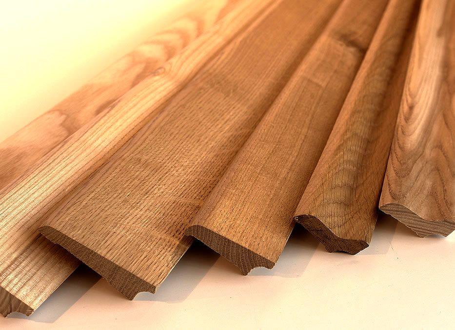 деревянный плинтус как выбрать