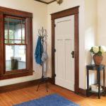 деревянный плинтус в частном доме идеи дизайна