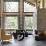 деревянный плинтус в частном доме идеи декора