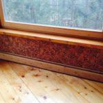 деревянный плинтус в частном доме варианты фото