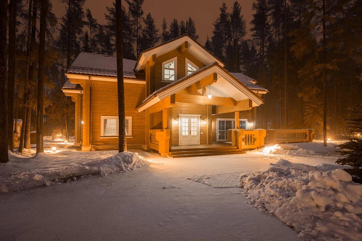 домик по финской технологии