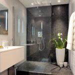 душевая кабина в ванной комнате фото декора