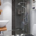 душевая кабина в ванной комнате идеи декора