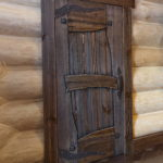 двери для бани декор