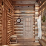 двери для бани фото декора