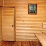 двери для бани оформление