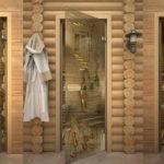 двери для бани варианты фото