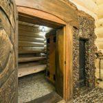 двери для бани виды оформления