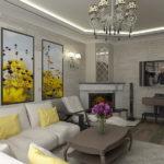 электрический камин для дома фото дизайна