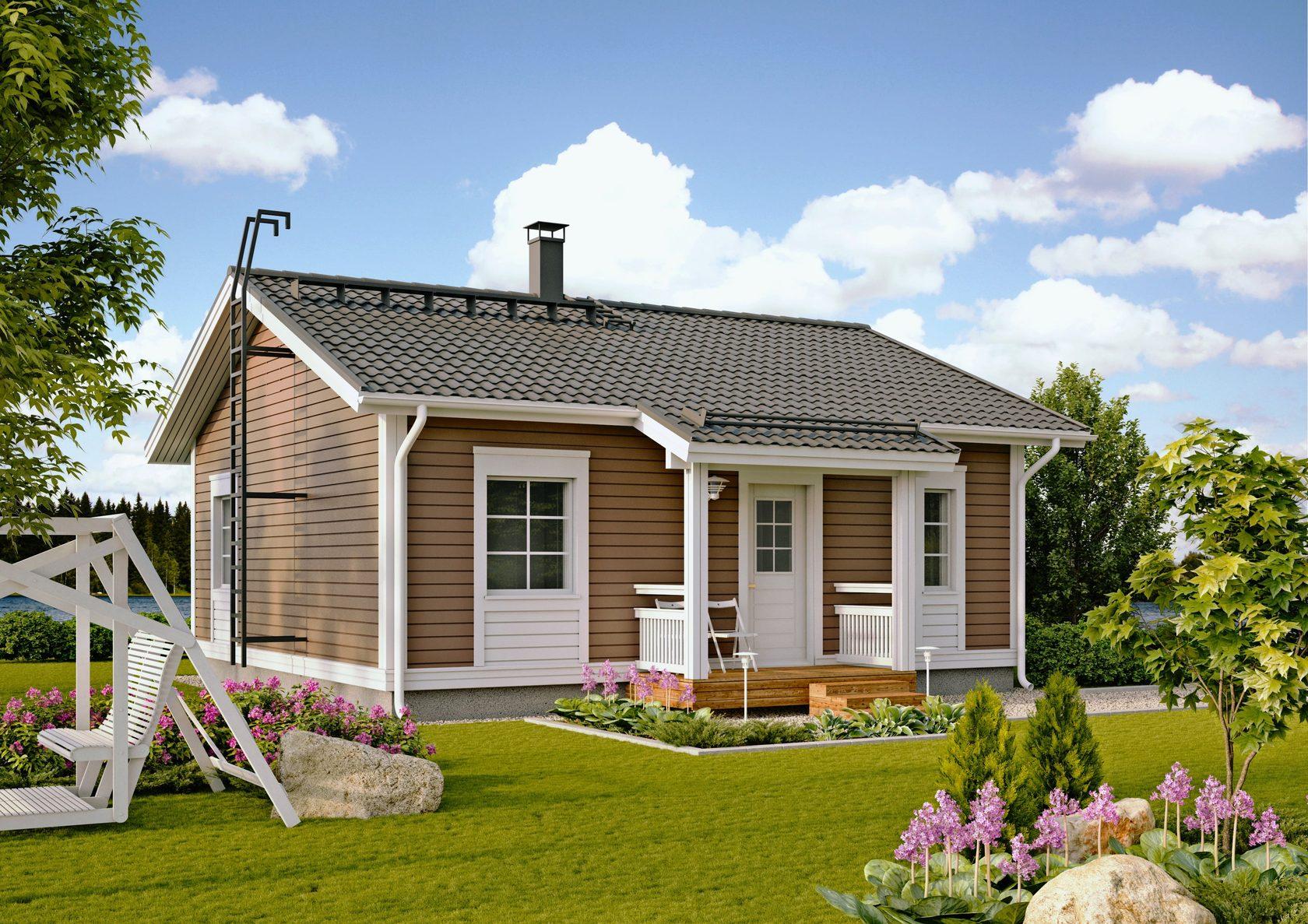 маленькие одноэтажные дома картинки его приготовления