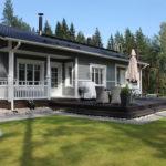 финский дом фото декор