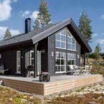 финский дом фото интерьер