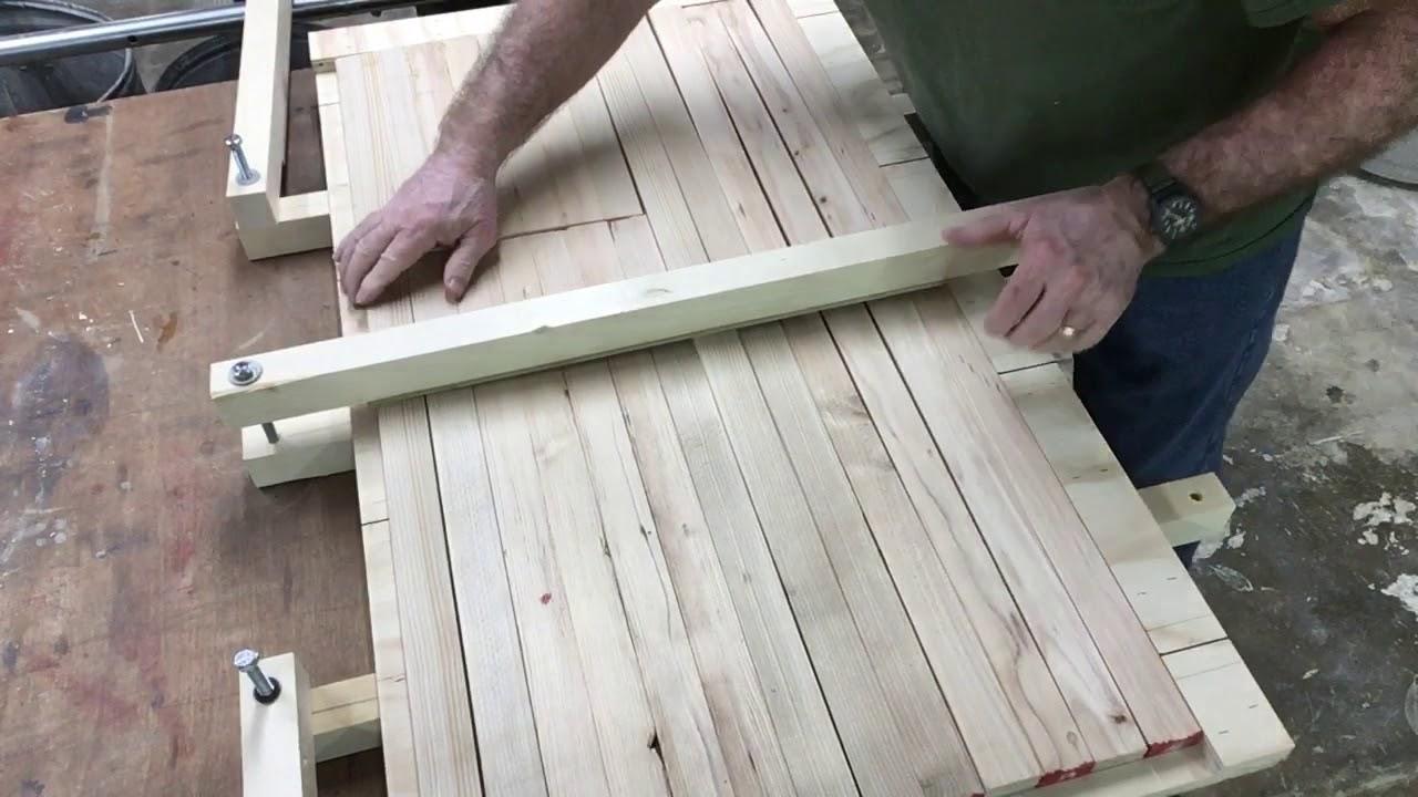 изготовление двери