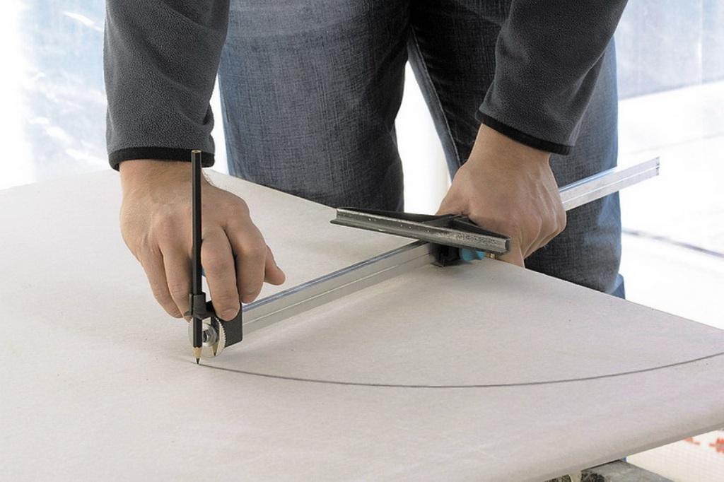 как сделать арку из гипсокартона фото