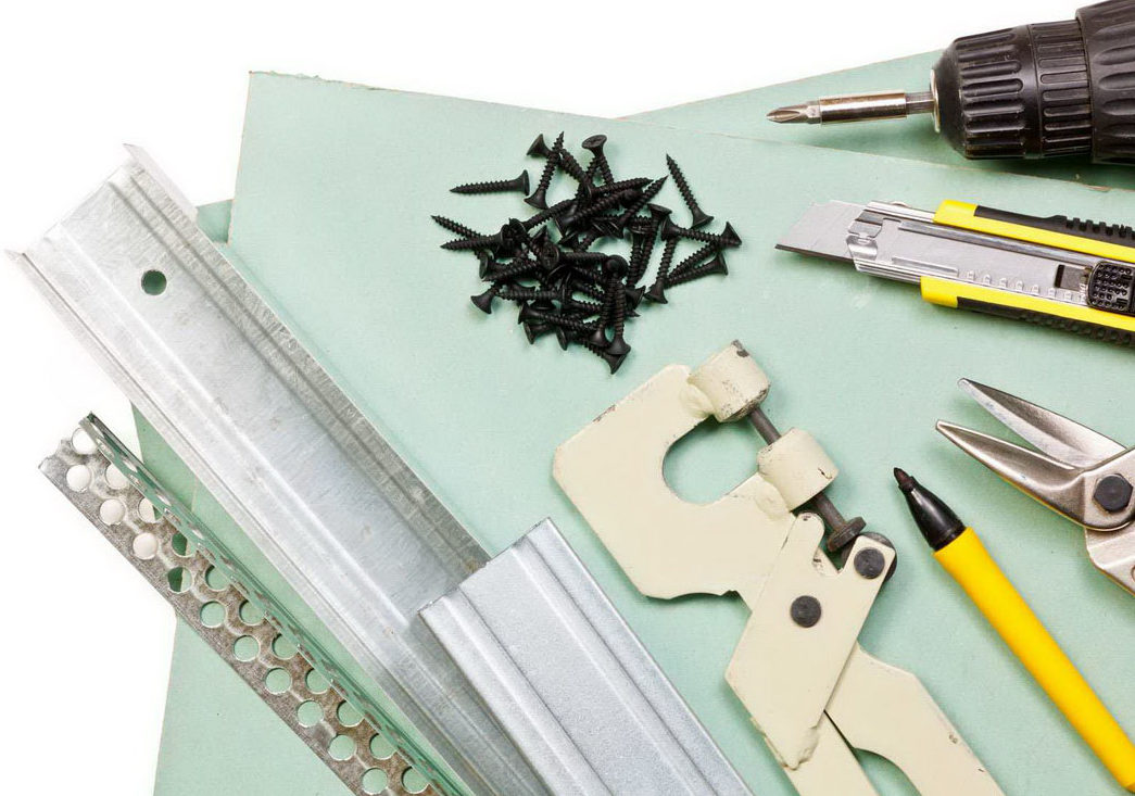 как сделать арку из гипсокартона материалы