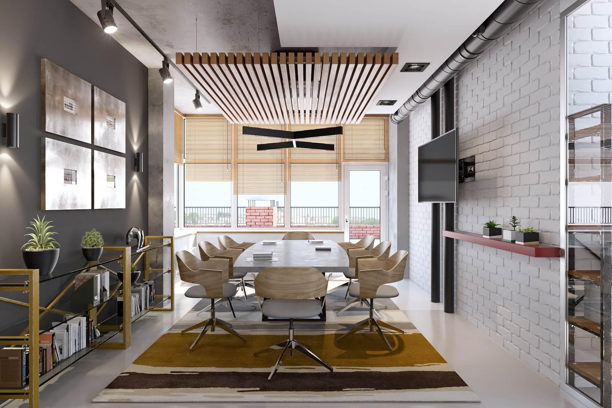 вентиляция в частном доме в стиле лофт