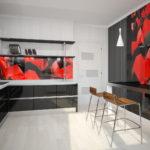 цвет стен на кухне интерьер идеи