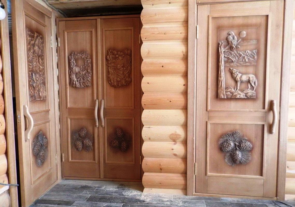 какие двери выбрать для бани