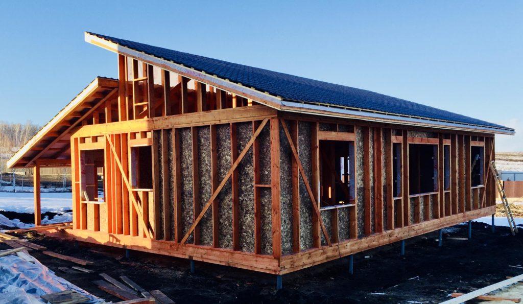 финский домик одноэтажный