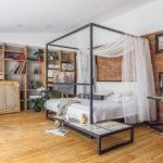 кровать с балдахином фото декора