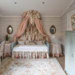 кровать с балдахином идеи декора
