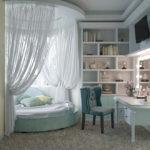 кровать с балдахином оформление фото
