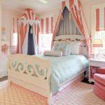 кровать с балдахином оформление идеи