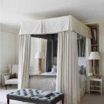 кровать с балдахином виды дизайна