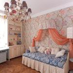 кровать с балдахином дизайн