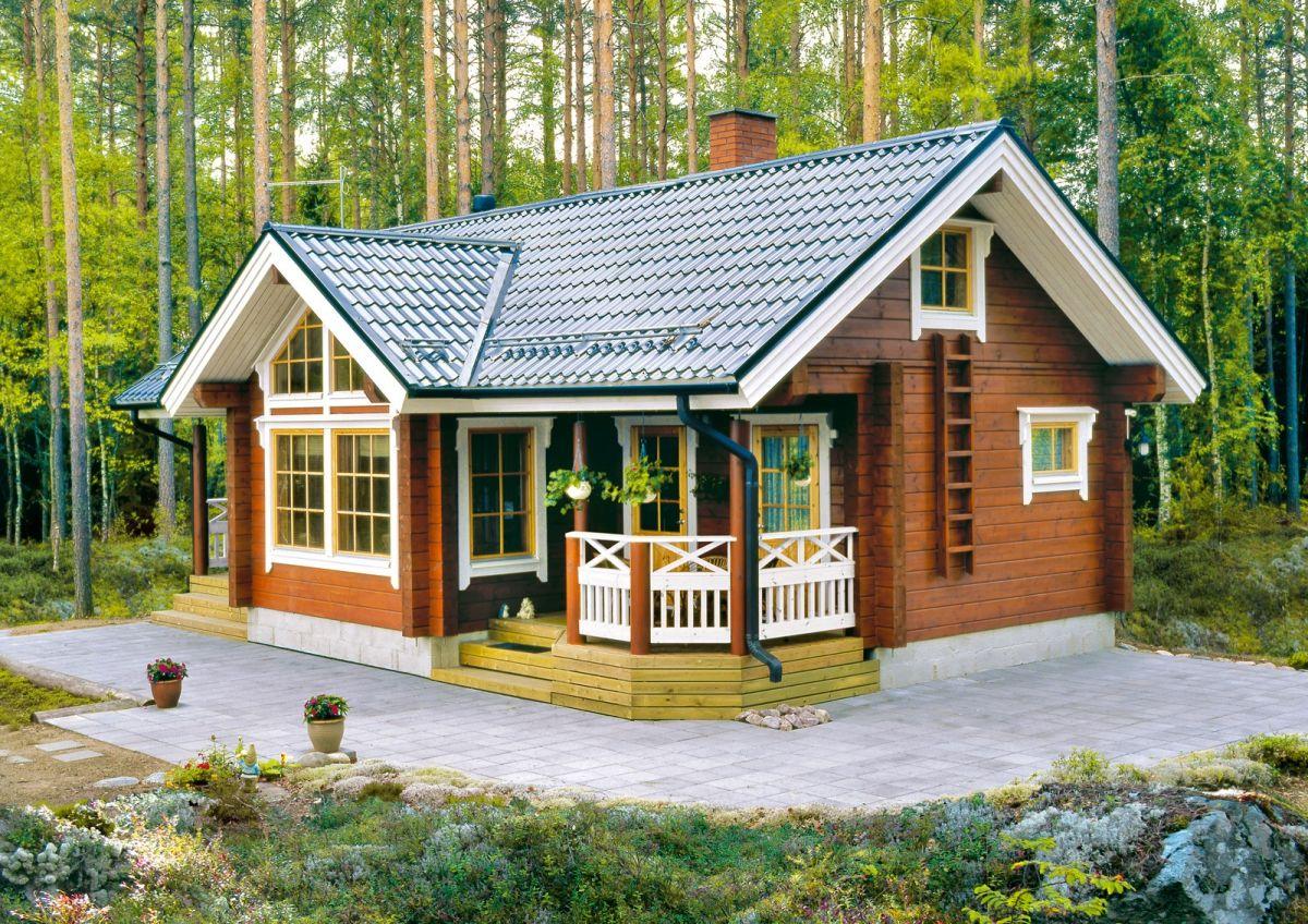 крыша финского домика