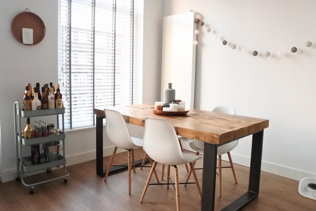 квартира в стиле хюгге кухня