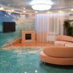 наливной 3д пол фото декора