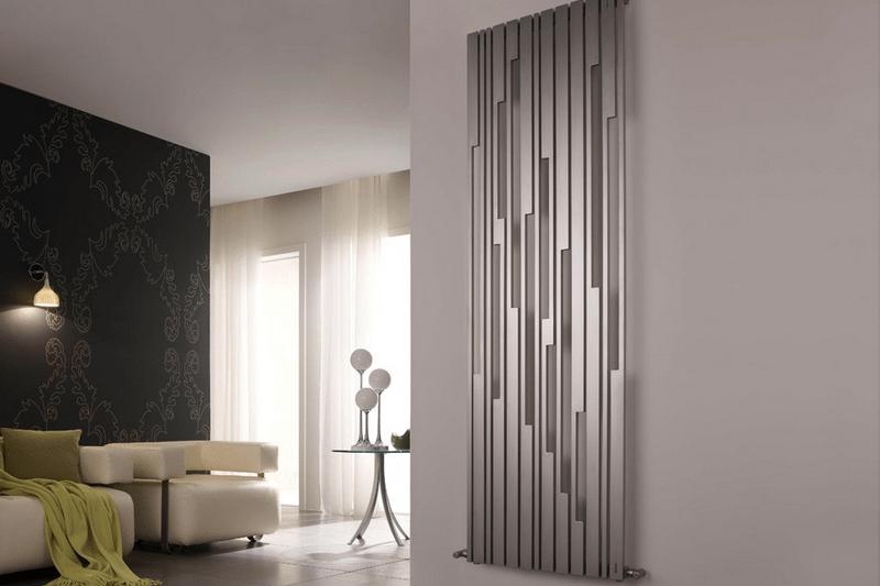 вертикальный радиатор отопления особенности