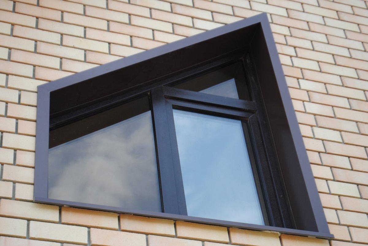 фото наружных откосов на окна