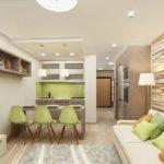 перепланировка квартиры хрущёвки интерьер