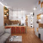 перепланировка квартиры хрущёвки фото интерьер