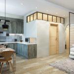 перепланировка квартиры хрущёвки дизайн фото