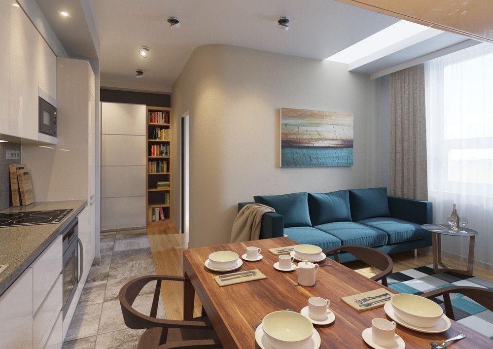 перепланирова квартиры по типу книжка