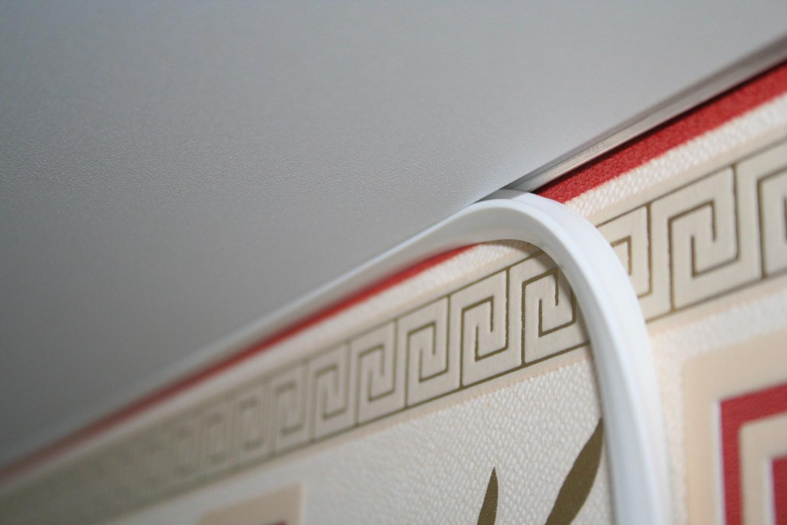 признание багет для натяжных потолков фото плитка подходит