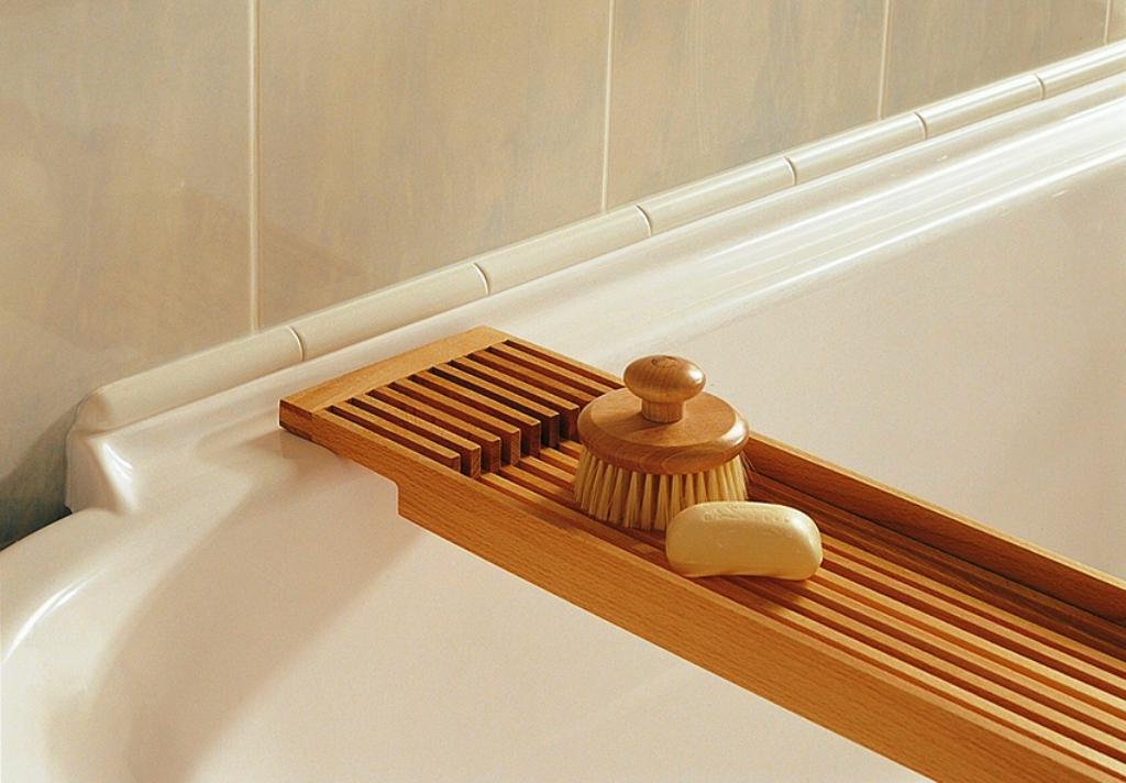 плинтус для ванны идеи