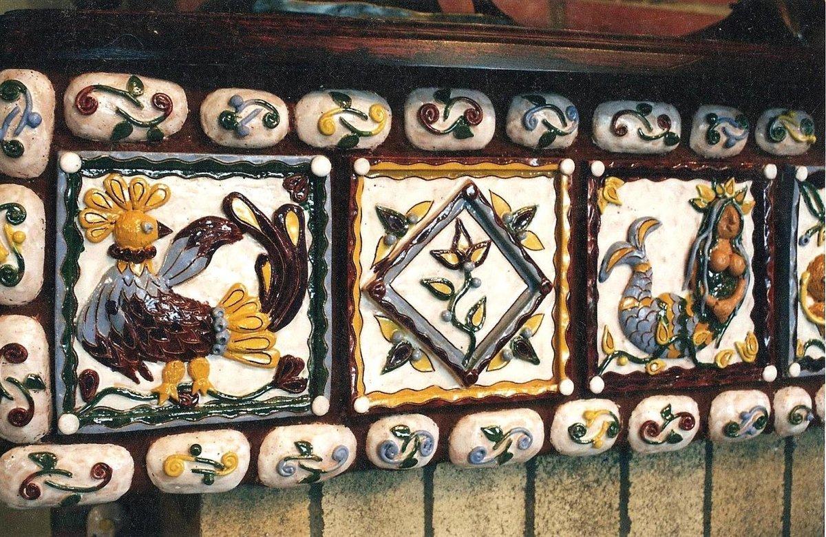 плитка для печей и каминов изразцы