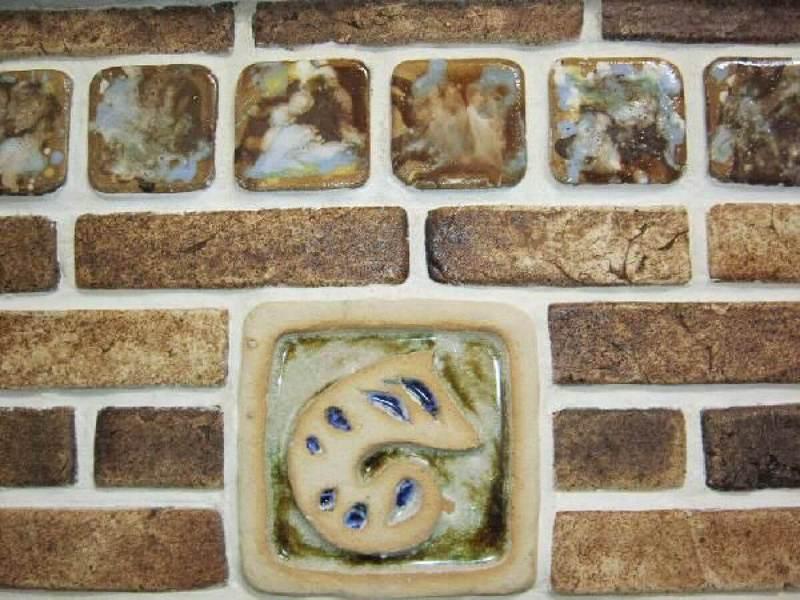 плитка для печей и каминов шамотная