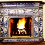 плитка для печи и камина декор