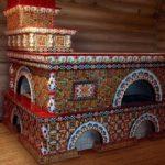 плитка для печи и камина идеи декора