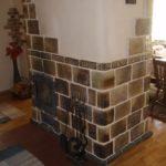 плитка для печи и камина идеи оформление