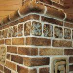 плитка для печи и камина виды дизайна