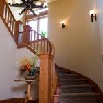 подсветка лестницы в частном доме