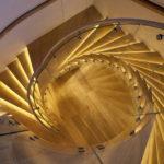 подсветка лестницы в частном доме интерьер идеи