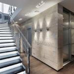 подсветка лестницы в частном доме идеи интерьер